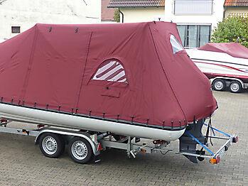 Persenning Ranieri Cayman 23 Sport Touring nautisches Zelt 07
