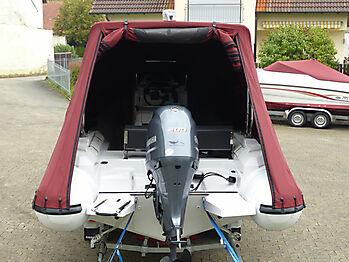 Persenning Ranieri Cayman 23 Sport Touring nautisches Zelt 08