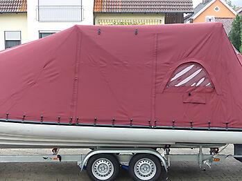 Persenning Ranieri Cayman 23 Sport Touring nautisches Zelt 09