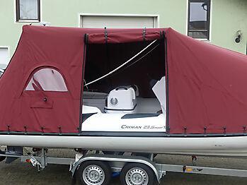 Persenning Ranieri Cayman 23 Sport Touring nautisches Zelt 10