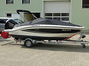 Persenning Sea Ray 19 SPOE Outboard Bootspersenning 04