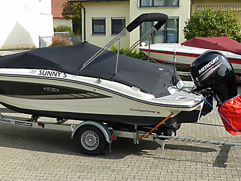 Persenning Sea Ray 19 SPOE Outboard Bootspersenning 05