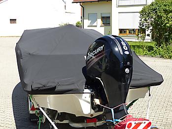 Persenning Sea Ray 19 SPX Ganzpersenning 08