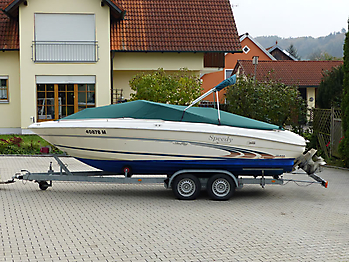 Persenning Sea Ray 210 Signature Bootspersenning 02