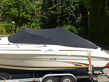 Persenning Sea Ray 215 Express Cruiser Bootspersenning 02