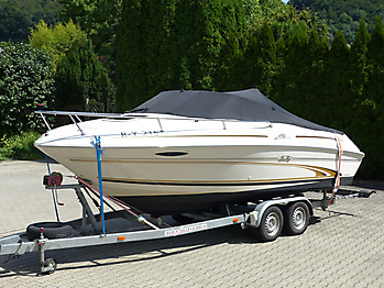 Persenning Sea Ray 215 Express Cruiser Bootspersenning 05