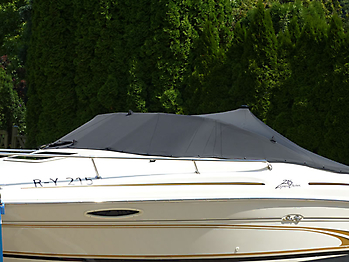Persenning Sea Ray 215 Express Cruiser Bootspersenning 06