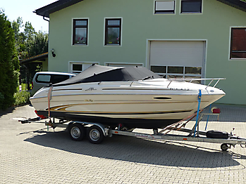 Persenning Sea Ray 215 Express Cruiser Bootspersenning 10