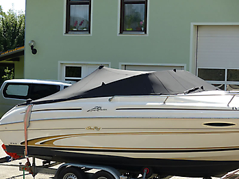 Persenning Sea Ray 215 Express Cruiser Bootspersenning 11