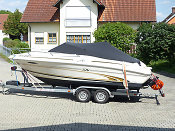 Persenning Sea Ray 215 Express Cruiser Bootspersenning 12