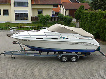 Persenning Sea Ray 230DA Bootspersenning 01