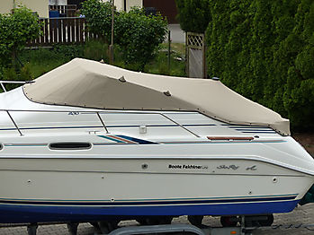 Persenning Sea Ray 230DA Bootspersenning 02