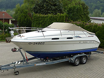 Persenning Sea Ray 230DA Bootspersenning 05