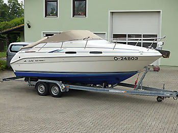 Persenning Sea Ray 230DA Bootspersenning 07