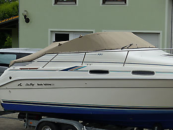 Persenning Sea Ray 230DA Bootspersenning 08