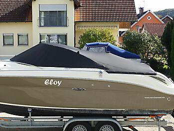 Persenning Sea Ray 235 Weekender Bootspersenning 04