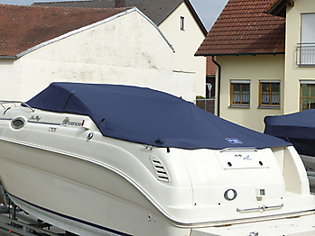 Persenning Sea Ray 240 DA Sundancer Bootspersenning 07