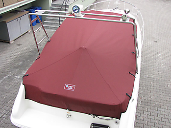 Persenning Sea Ray 240 DA Sundancer Bootspersenning 08