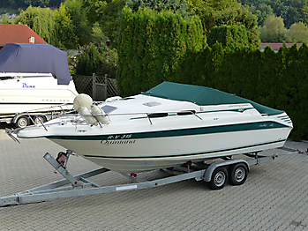 Persenning Sea Ray 250 Express Cruiser Bootspersenning05