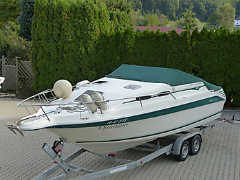 Persenning Sea Ray 250 Express Cruiser Bootspersenning07