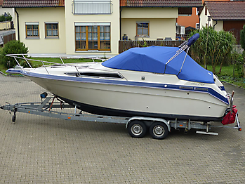 Persenning Sea Ray Sorrento 25 Bootspersenning 01