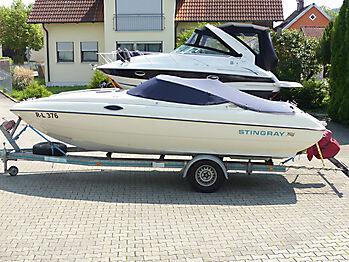 Persenning Stingray 609ZP Bootspersenning 03