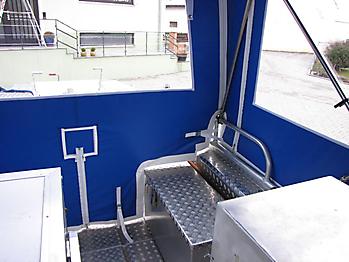 Verdeck Barro RTB 500 Aluminiumboot Bootsverdeck Persenning 12
