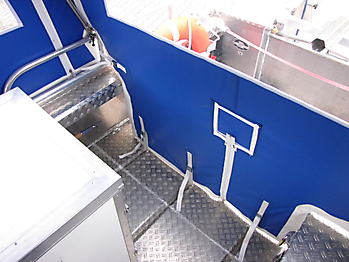 Verdeck Barro RTB 500 Aluminiumboot Bootsverdeck Persenning 13