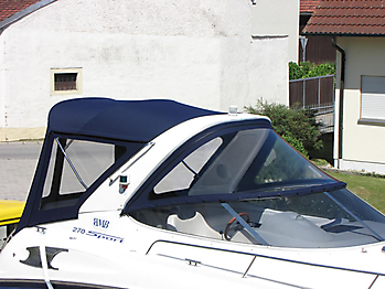 Verdeck Bavaria 270 Sport Bootsverdeck Persenning 05