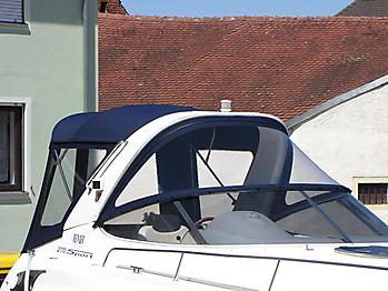 Verdeck Bavaria 270 Sport Bootsverdeck Persenning 07