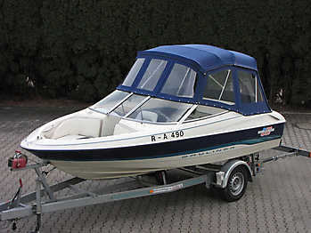 Verdeck Bayliner 1750 LS Persenning 12