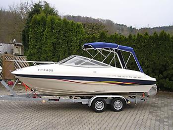 Verdeck Bayliner 192LX Persenning 10