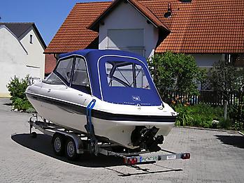 Verdeck Bayliner 2051 Persenning 04