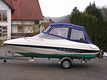 Verdeck Bayliner 2052 LS Persenning 02