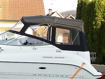 Verdeck Bayliner 265 Originalgestänge 04