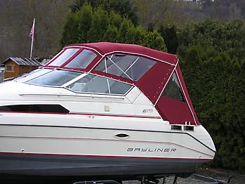 Bootsverdeck Bayliner 2755 Verdeck 07