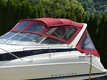 Verdeck Bayliner 2855 Bootsverdeck 06