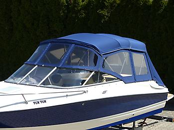 Verdeck Bayliner 652 Cuddy Bootsverdeck Persenning 08