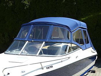 Verdeck Bayliner 652 Cuddy Bootsverdeck Persenning 10