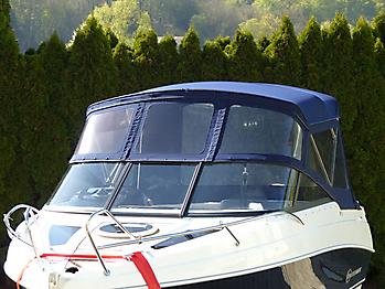 Verdeck Coaster 600 DC Scandica 20 Oceanmaster 600 Cabin Persenning 06