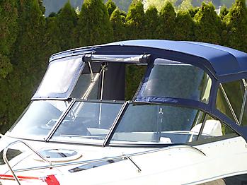 Verdeck Coaster 600 DC Scandica 20 Oceanmaster 600 Cabin Persenning 07