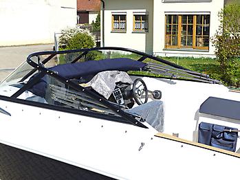 Verdeck Coaster 600 DC Scandica 20 Oceanmaster 600 Cabin Persenning 21