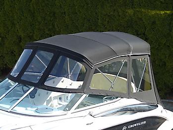 Verdeck Crownline 250 CR mit Edelstahlgestaenge Persenning 08