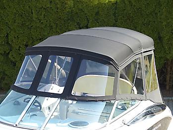 Verdeck Crownline 250 CR mit Edelstahlgestaenge Persenning 09