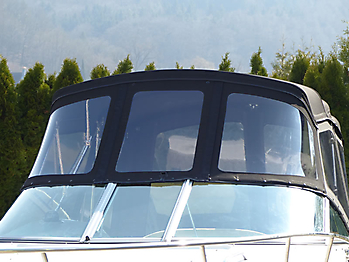 Verdeck Crownline 250 CR mit Edelstahlgestaenge Persenning 10
