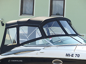 Verdeck Crownline 250 CR mit Edelstahlgestaenge Persenning 12