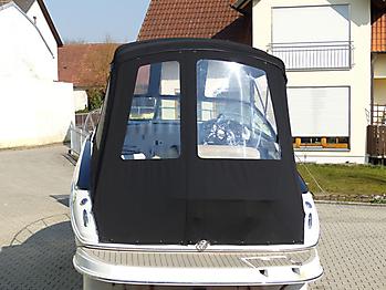 Verdeck Crownline 250 CR mit Edelstahlgestaenge Persenning 18