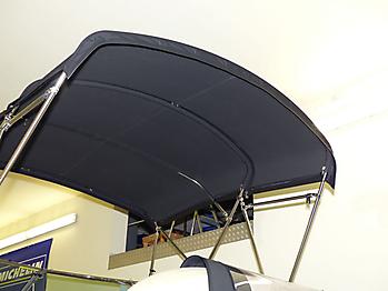 Verdeck Crownline 250 CR mit Edelstahlgestaenge Persenning 20