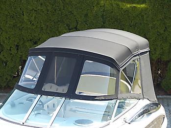 Verdeck Crownline 250 CR mit Edelstahlgestaenge Persenning 36