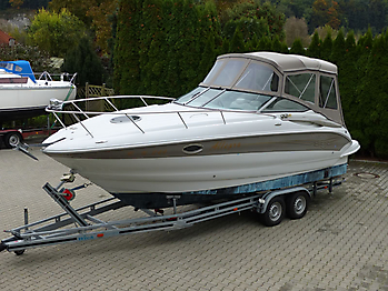 Camperverdeck Crownline 250 CR Sunbrella Plus Taupe 05